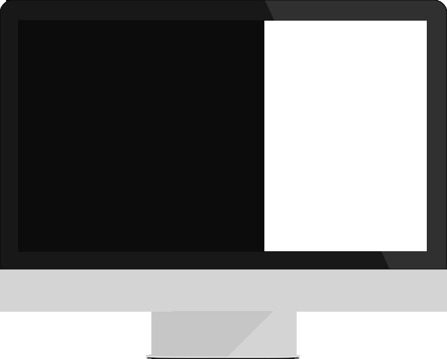 télé écran rouge