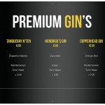 Table Premium Gin's