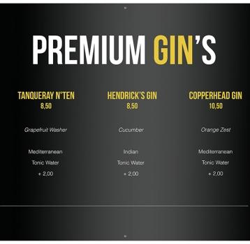 Premium Gin's